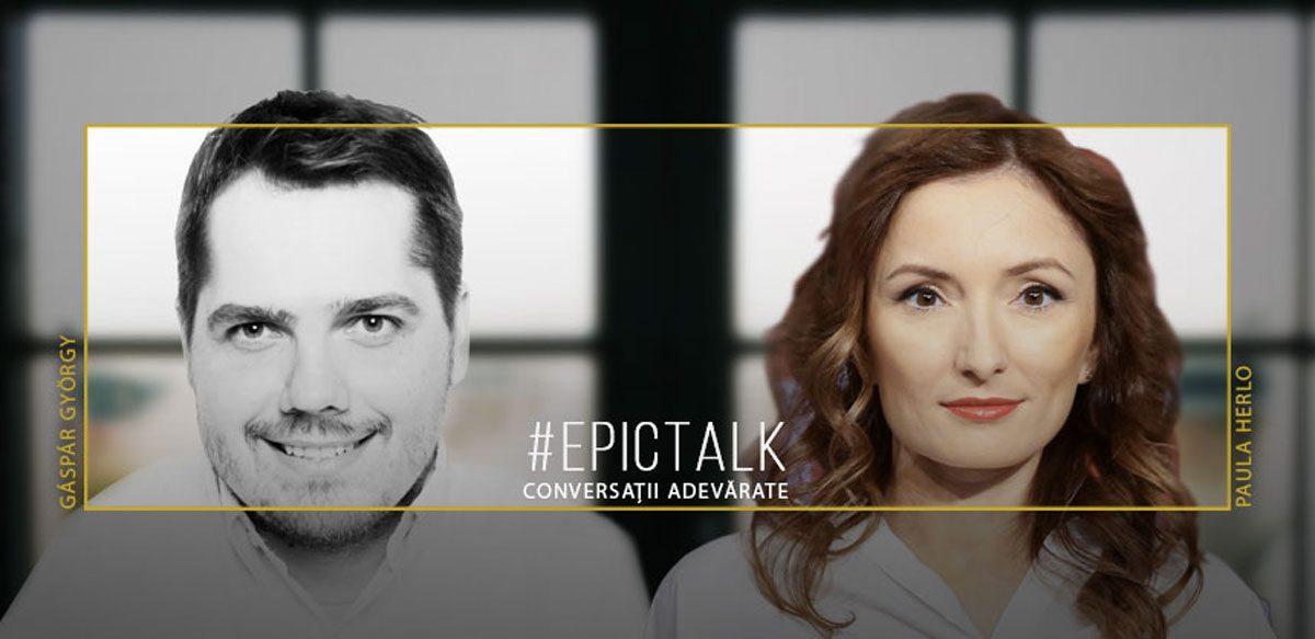 #EpicTalk Cu Paula Herlo – Despre Puterea De A Face Ceva în România