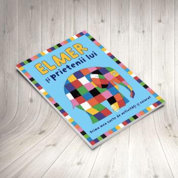 Elmer şi Prietenii Lui (carte De Colorat)