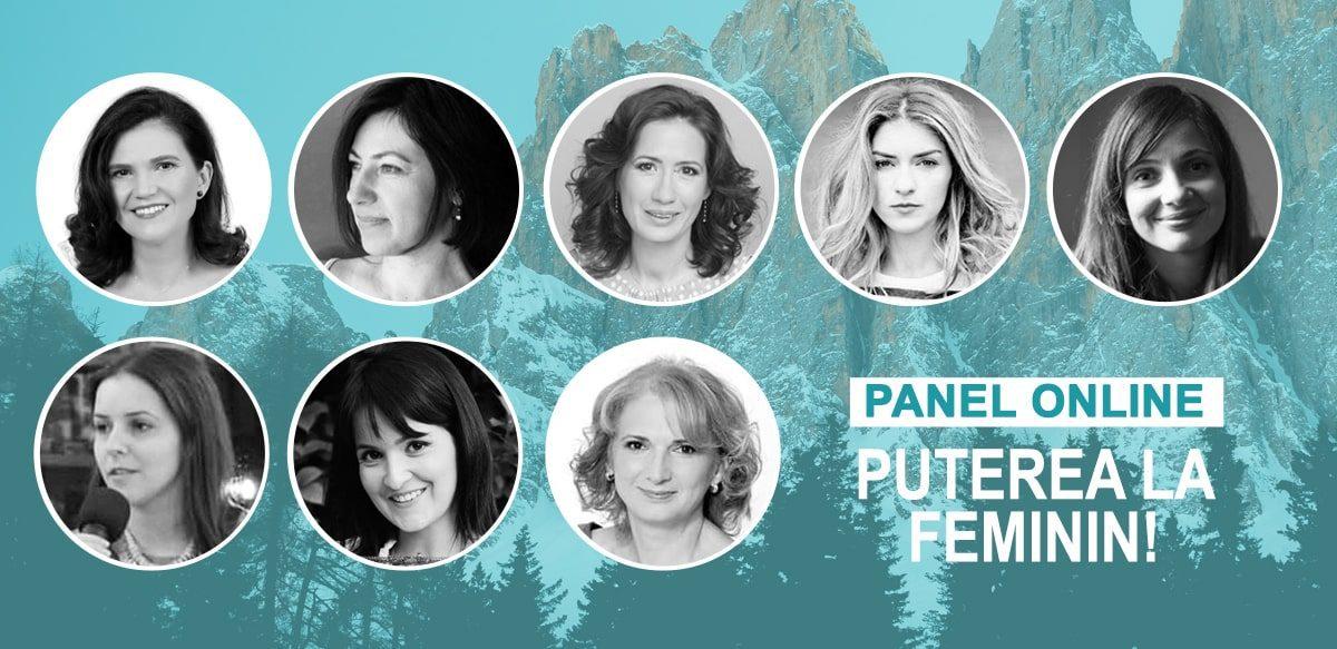 Panel Online: Puterea La Feminin!