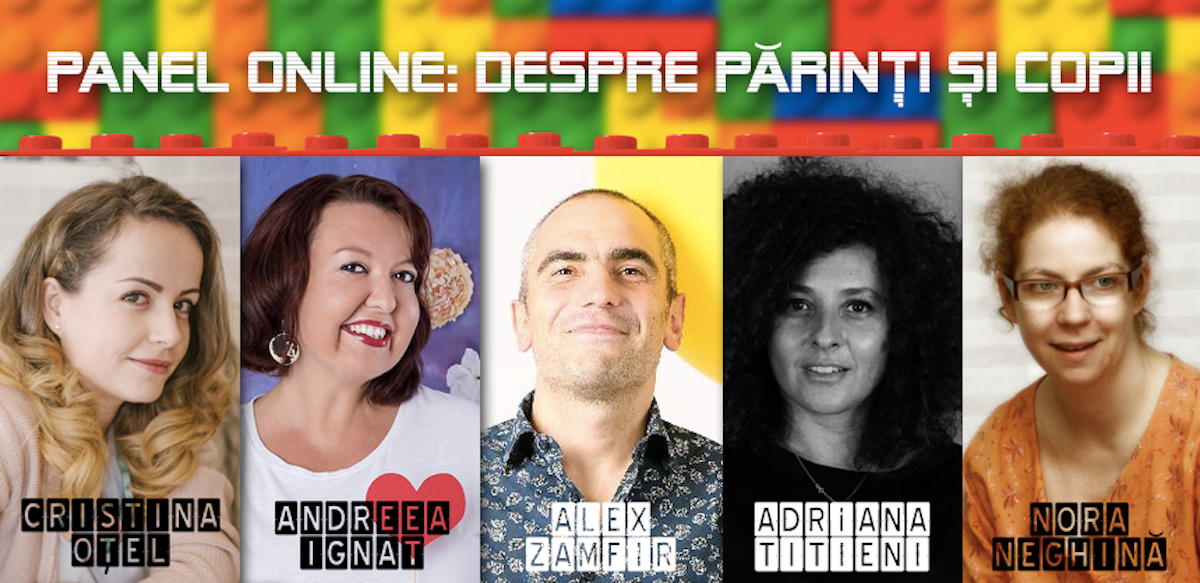 Panel Online: Despre Părinți și Copii