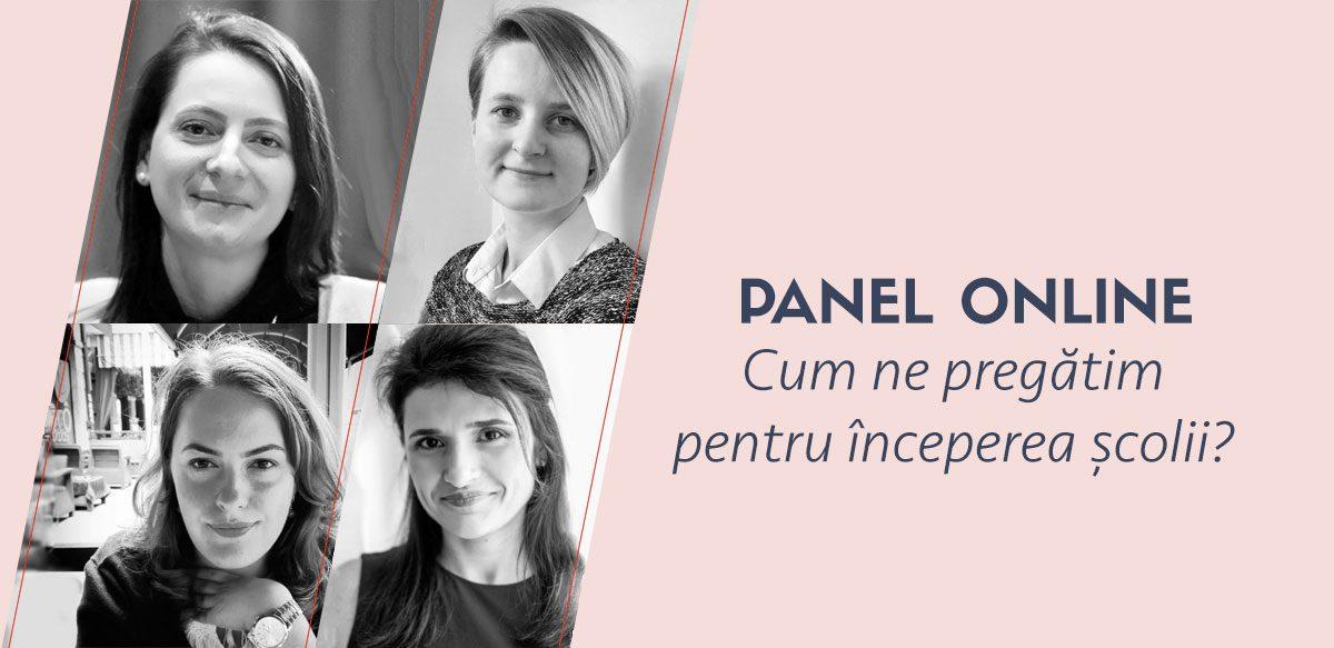 Panel Online: Cum Ne Pregătim Pentru începerea școlii?