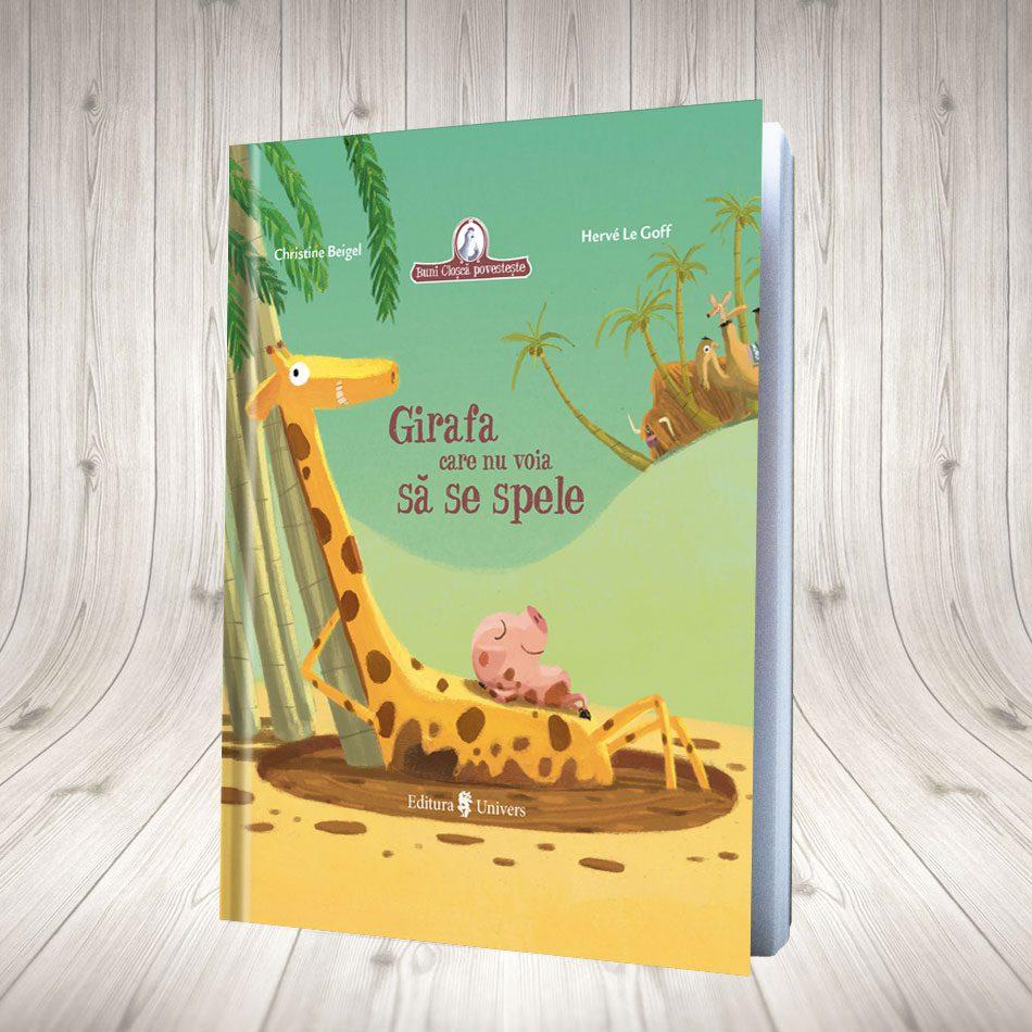 Girafa Care Nu Voia Să Se Spele