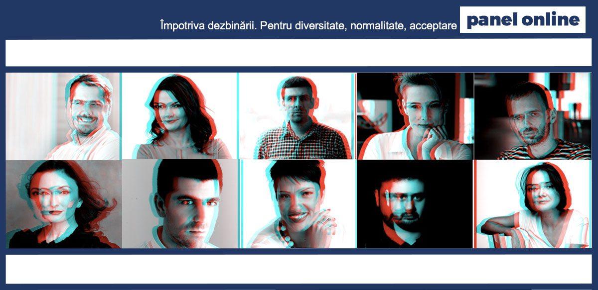 Panel Online: Împotriva Dezbinării. Pentru Diversitate, Normalitate, Acceptare