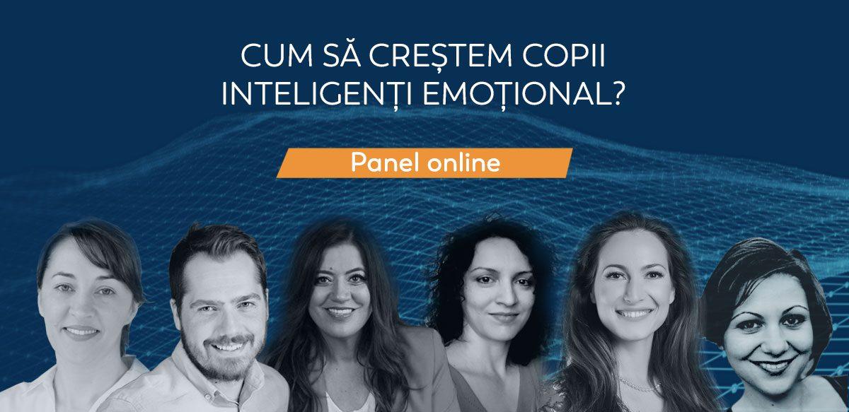 Panel Online: Cum Să Creștem Copii Inteligenți Emoțional?