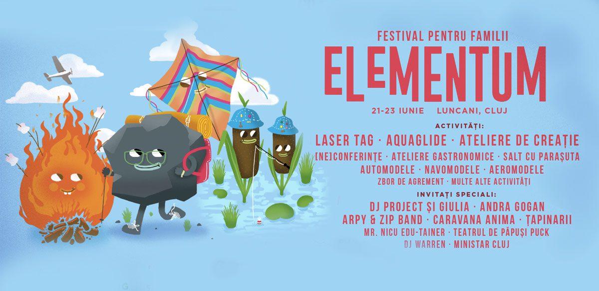 Elementum – Festival Pentru Familii, Ediția 2019