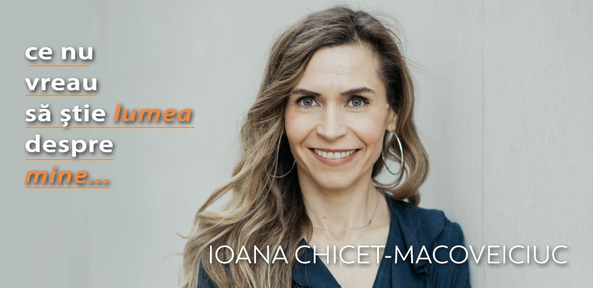 Ioana Chicet-Macoveiciuc – Ce Nu Vreau Să știe Lumea Despre Mine