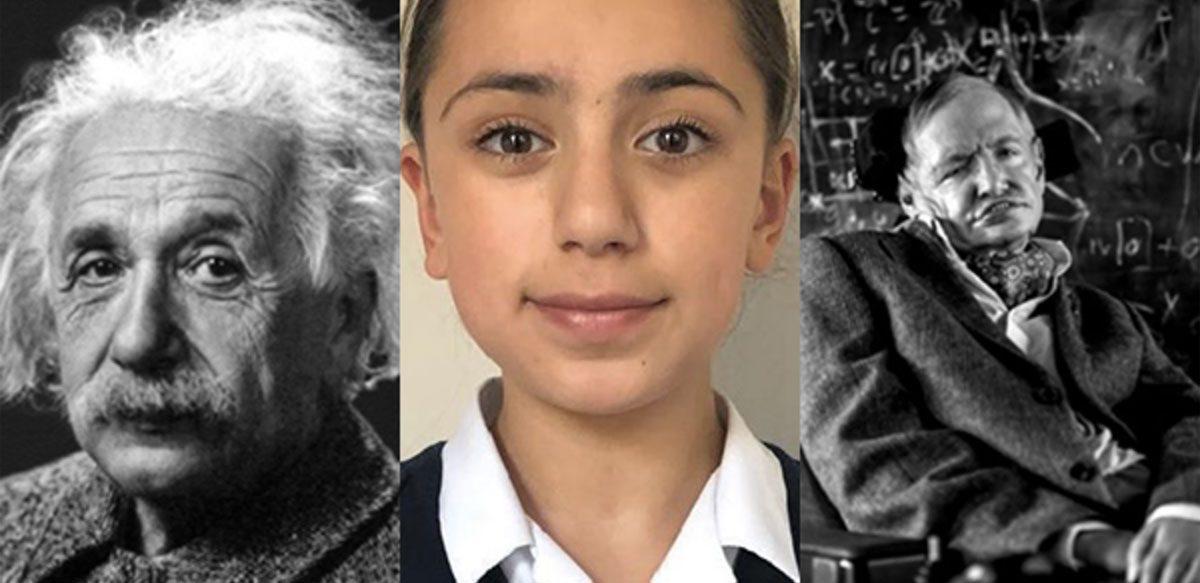 O Elevă în Vârstă De 11 Ani, Cu Un IQ Mai Mare Decât Al Lui Einstein și Hawking