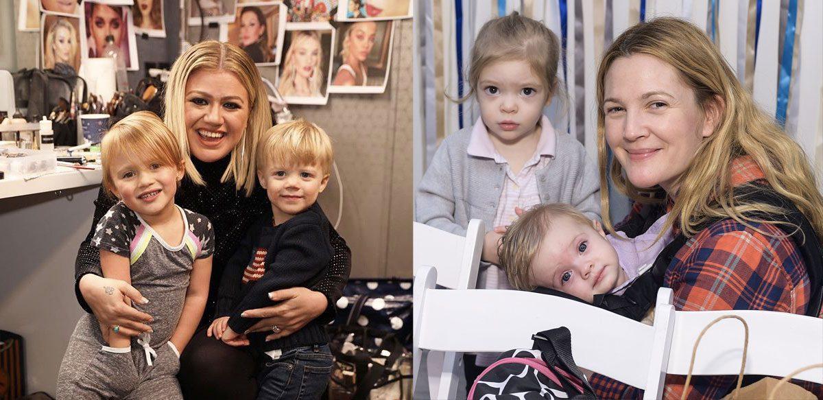 Viața Nefardată A Vedetelor în Rolurile De Părinți: Drew Barrymore și Kelly Clarkson
