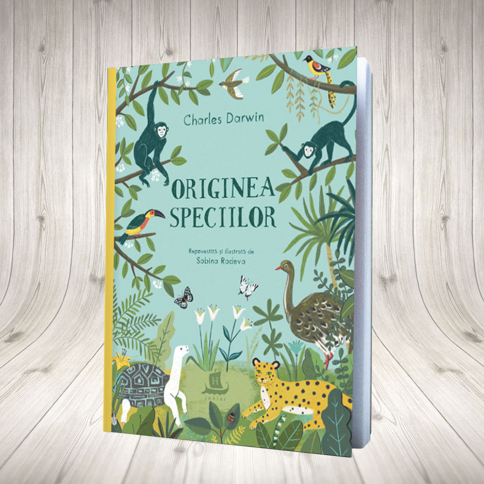 Originea Speciilor (pentru Copii)