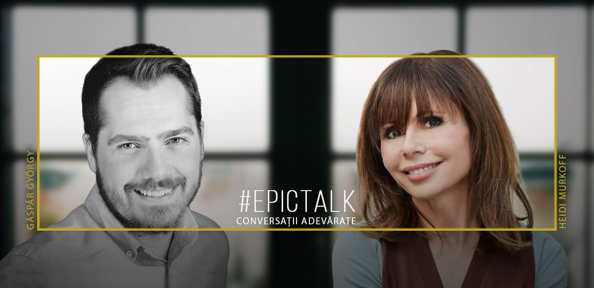 #EpicTalk Cu Heidi Murkoff – What To Expect When You're Expecting