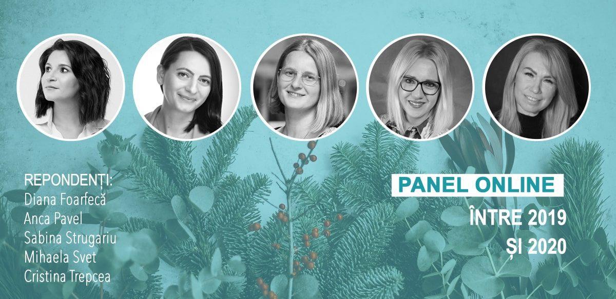 Panel Online: Între 2019 și 2020
