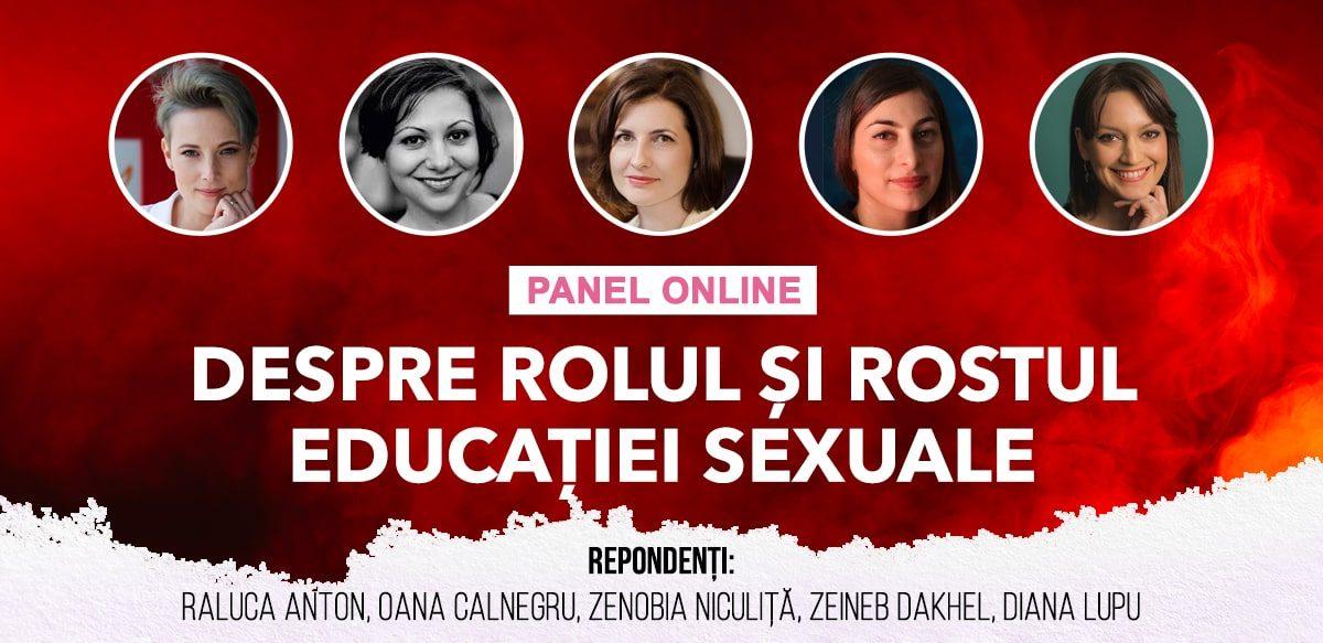 Panel Online: Despre Rolul și Rostul Educației Sexuale