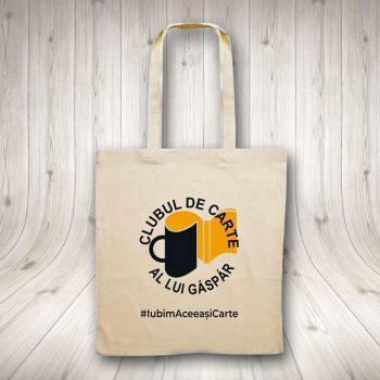 Sacoșă Personalizată – Clubul De Carte Al Lui Gáspár
