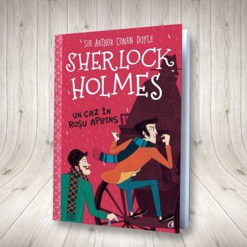 Sherlock Holmes. Un Caz în Roșu Aprins